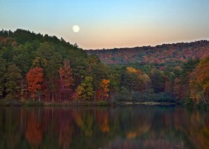 Alabama Autumn Moon